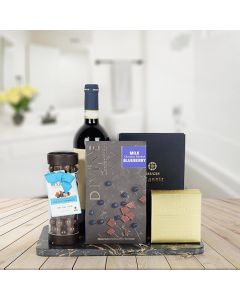 Rich & Smooth Gift Set with Wine