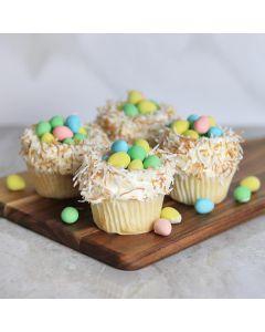 Easter Cupcakes Basket