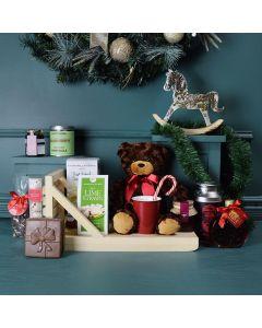 Christmas Coffee & Chocolate Gift Basket