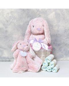 Baby Girl Bunny Basket