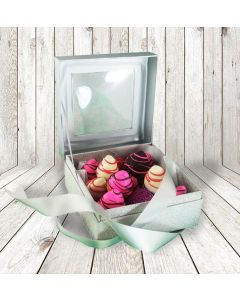 Colourful Chocolate Dipped Strawberries in an Elegant Gift Box