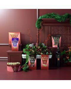 Chocolate & Wine Lover Gift Basket