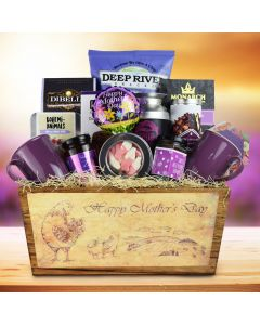The Happy Mother`s Day Gift Basket