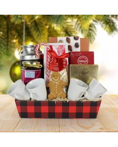 Festive Coffee Gift Basket