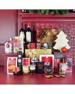 Opulent Christmas Wine & Chocolate Gift Set