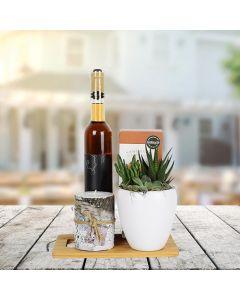 Nature's Bounty Wine Gift Basket