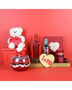 Romance is Sweet Gift Basket