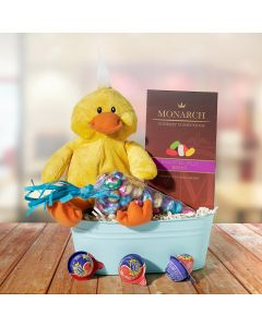 Baby Chick Easter Sweets Basket