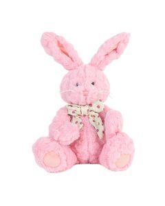 Posh Dusty Rose Bunny