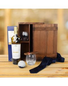 Whisky & Cigar Gourmet Gift Set