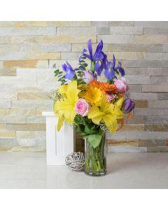 Easter Floral Gift Basket