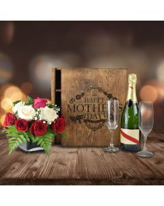Exquisite Mother's Day Sparkling Wine Crate
