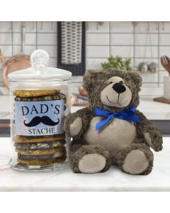 "Dad's Cookie ""Stache"" Father's Day Gift Basket"