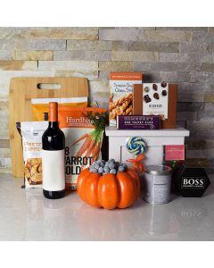 Happy Halloween Wine Gift Basket