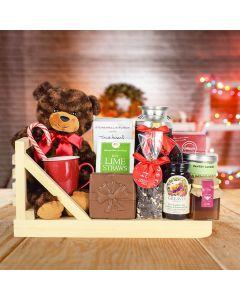 Coffee & Chocolate Christmas Basket