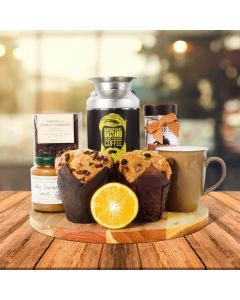 Coffee & Muffins Gift Basket