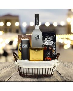 The Good Spirits Gourmet Gift Basket