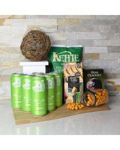 St. Patrick's Beer & Snacks Basket