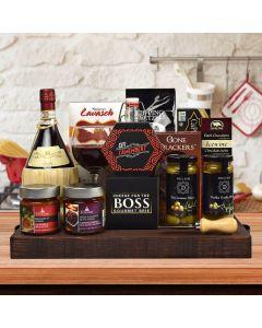 Branston Gourmet Gift Basket, With Wine