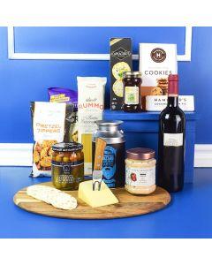 Gourmet Kosher Treats & Wine Basket