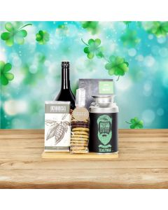 Luck O' The Irish Coffee Gift Basket