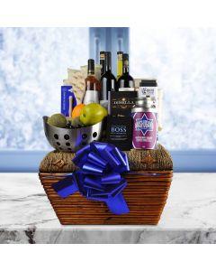 The Hanukkah Deluxe Wine Basket