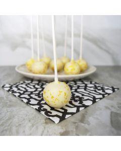 White Gold Cake Pops