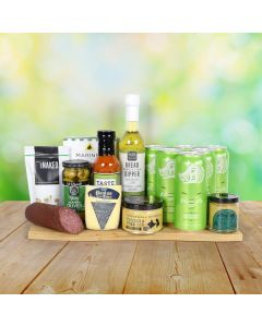 St. Patrick's Day Beer & Savory Snacks Basket