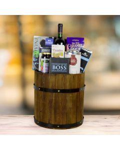 The Foodie Wine Gift Basket