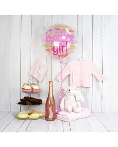 Deluxe Sweet Baby Girl Gift Basket