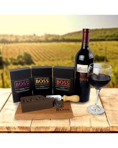 BOSS Deluxe Wine Pairing Chocolate Bars - Trio Gift Set