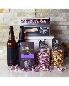 Halloween Beer & Popcorn Party Gift Set