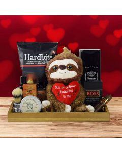 Valentine's Gift Basket for Him