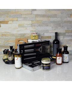 Zesty BBQ Gift Set with Wine
