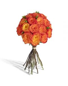 The Golden Roses Bouquet