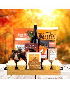 Thanksgiving Wine & Snacks Bounty