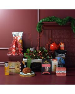 Substantial Snacking Christmas Gift Basket