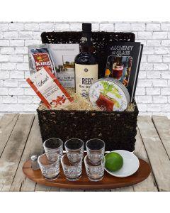 The Book Lover's Liquor Gift Basket