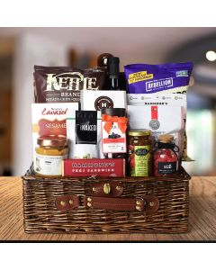 Kosher Wine & Snacks Basket