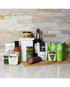 St. Patrick's Day Beer & Spirits Snack Basket