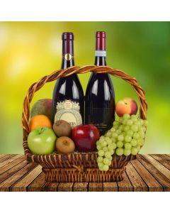 New Harvest Wine Gift Basket