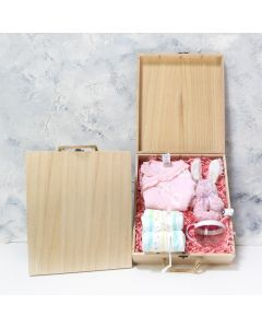 Baby Girl Crate
