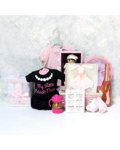 BABY GIRL'S BEDROOM & PLAYSET WITH CHAMPAGNE