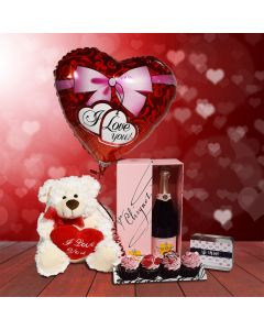 Champagne Gift Basket with Love!