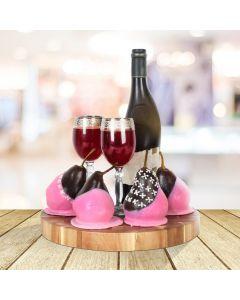 Fine Wine & Pears Gift Basket