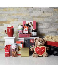 Love by Chocolate Gift Basket