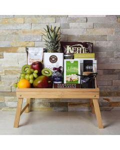 Foodie's Delight Fruit & Snack Basket