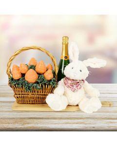 Champagne & Chocolate Strawberries Basket