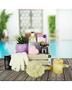 Sea of Calm Spa Gift Crate