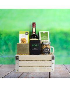 St. Patrick's Day Liquor & Snack Crate